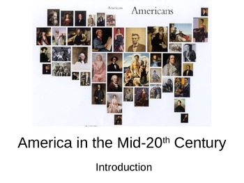 America in the 1960s- Introduction