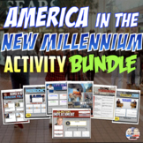 America in the New Millennium   Distance Learning Activity Bundle