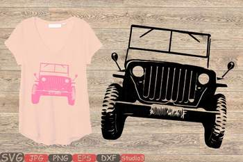 Christmas Jeep Silhouette.America Jeep Svg Jeep Girl Svg Silhouette Svg Cutting Files Clip Art 85sv