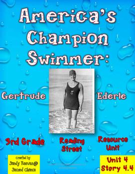 America's Champion Swimmer 3rd Grade Reading Street Resource Pack