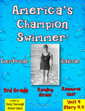 America's Champion Swimmer 3rd Grade Reading Street Resource Pack