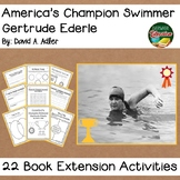 America's Champion Swimmer Gertrude Ederle by Adler Biography 22 Activities