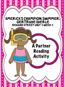 America's Champion Swimmer Reading Street 3rd Grade Unit 4 Partner Read centers