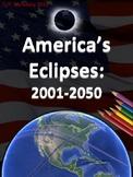America's Eclipses: 2001-2050