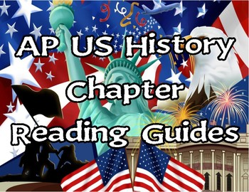 America's History AP textbook by Henretta, Ch.1-9 Reading Guides