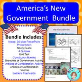 America's New Government Bundle – Upper Elementary – No Pr