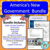 America's New Government Bundle – Upper Elementary – No Pr
