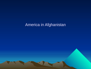 America's Role in Afghan Soviet War