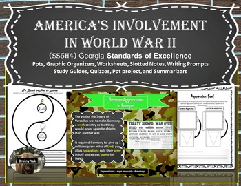 America's involvement in World War II (SS5H4)