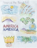 America the Beautiful Lyrics in Pictures - Songs for Class