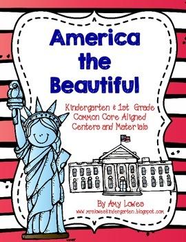 America the Beautiful Math and Literacy Unit