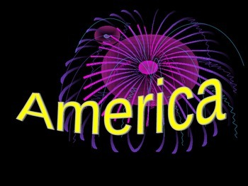 America the Beautiful Sing Along Powerpoint