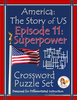 America The Story Of Us Episode 11 Crossword Puzzle Worksheets Tpt