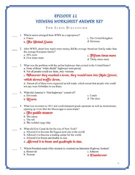 America The Story Of Us Episode 11 Quiz And Worksheet By Elise