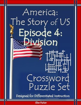 America the Story of US Episode 4 Crossword Puzzle Worksheets