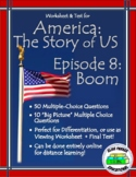America the Story of US Episode 8 Quiz and Worksheet