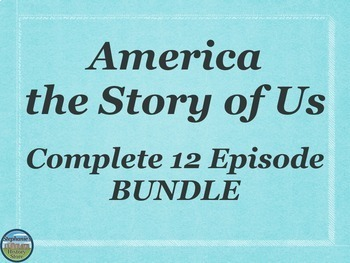 America the Story of Us All 12 Episodes BUNDLE
