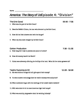 america the story of us episode 8 boom worksheet answers. Black Bedroom Furniture Sets. Home Design Ideas