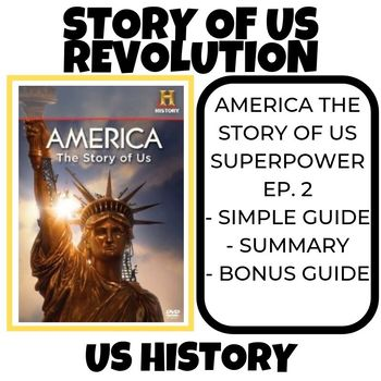 The Story of US- Revolution- History Channel (Episode 2)