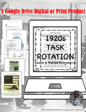 American 1920s Task Rotation for Google Drive Classroom In