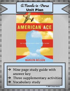 American Ace by Marilyn Nelson (A Novels-in-Verse Unit)
