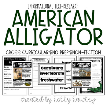 American Alligator-A Research Project