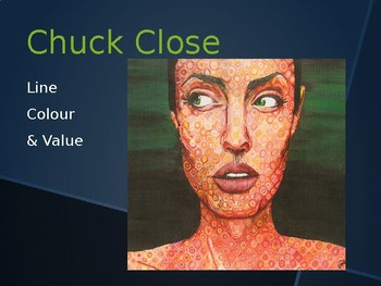 Art Activity - American Artist Chuck Close