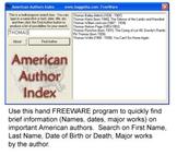 American Author Index