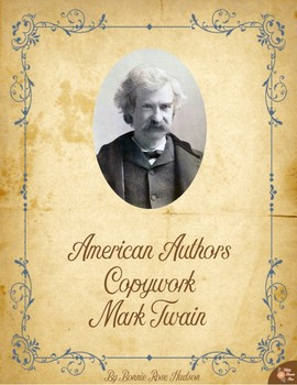 American Authors Copywork: Mark Twain