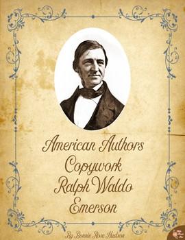 American Authors Copywork: Ralph Waldo Emerson