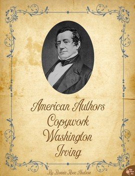 American Authors Copywork: Washington Irving
