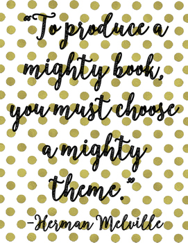 American Authors Quote Posters Bundle