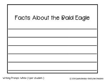 American Bald Eagle Craftivity