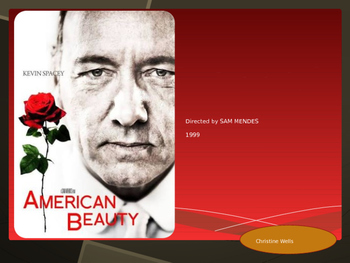 American Beauty Film Study