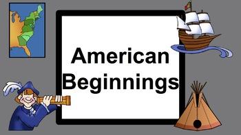 American Beginnings PowerPoint
