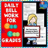 American Bell Ringers for Combined 5th & 6th Grade Classes