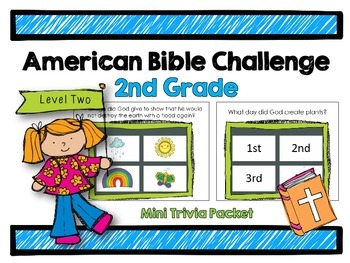 American Bible Challenge for Kids: Level Two