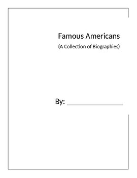 American Biographies Book