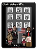 American Black History Watch & Learn iPad using QR Codes~B