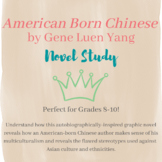 American Born Chinese Novel Study