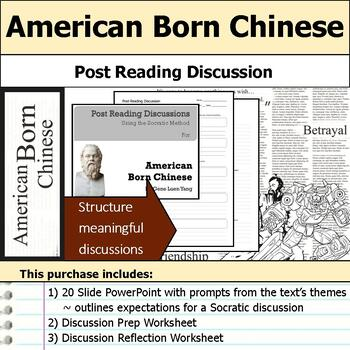 American Born Chinese - Socratic Method - Post Reading Discussions