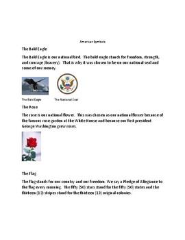 American Celebrations, Symbols, and Landmarks