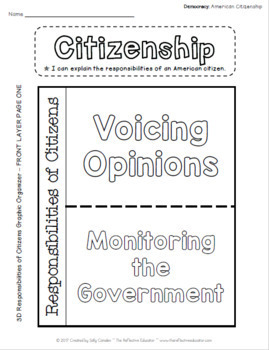 American Citizenship ~ Lesson Bundle