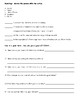 American Citizenship Reflection Sheet