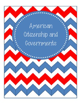 American Citizenship and government Notes and answer key