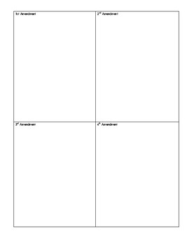 American Civics Unit Lesson 2 Graphic Organizer
