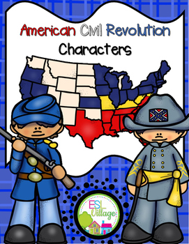 American Civil Revolution Characters