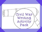 American Civil War Activities Writing Prompts History Research
