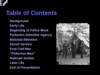 American Civil War - Key Leaders - Union - Alan Pinkerton