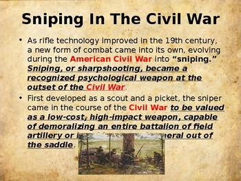American Civil War - Assassins & Snipers